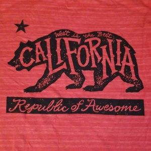 California Republic boys tshirt